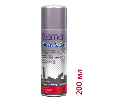 Очищающая пена Bama Clean and Care 200 ml